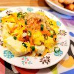 豆腐と卵の炒め物