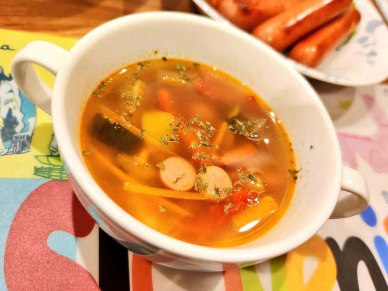 洋風野菜のスープ
